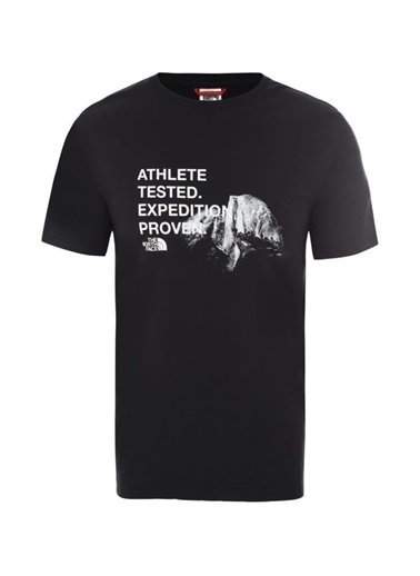 The North Face Graphic Erkek T-Shirt Siyah Siyah